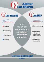 Catalog english - Lm-therm GmbH