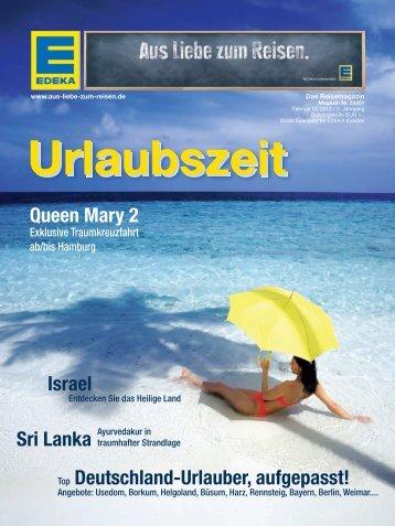 Reisemagazin Februar 2012