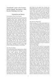 Xenophopbe's guide to the Germans Stefan ... - Msl.uni-bonn.de