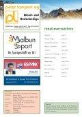 • Malbun-Projekt gesichert • Tourismus Schwerpunkte ... - Seite 2
