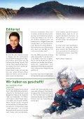 • Malbun-Projekt gesichert • Tourismus Schwerpunkte ... - Seite 3