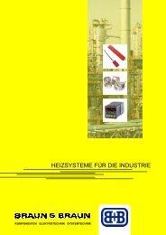 Heizsysteme für die Industrie - Braun & Braun