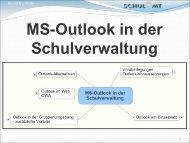 MS-Outlook in der Schulverwaltung