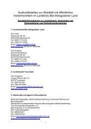 09_kontaktinformatio.. - Landratsamt Berchtesgadener Land