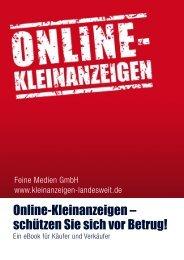 Online-Kleinanzeigen – schützen Sie sich vor Betrug!
