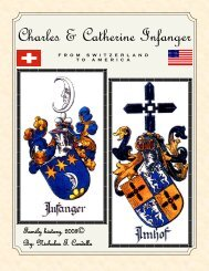 Our Swiss History - Cardello & English Family Genealogy Pages