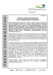 PP RR EE SS SS EE - Landratsamt Berchtesgadener Land
