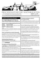 Amtsblatt vom 17. November 2012 - Ausgabe 46