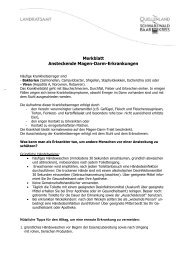 Merkblatt Magen-Darm-Erkrankung - Schwarzwald-Baar-Kreis