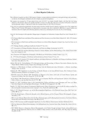 6. Main Reprint Collection - University of Southampton