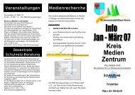 KMZ-INFO-Flyer Jan-März 2007 - Schwarzwald-Baar-Kreis