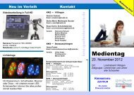 KMZ-INFO-Medientag 2012 - Schwarzwald-Baar-Kreis