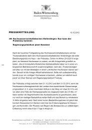 PRESSEMITTEILUNG - Landratsamt Schwarzwald-Baar-Kreis