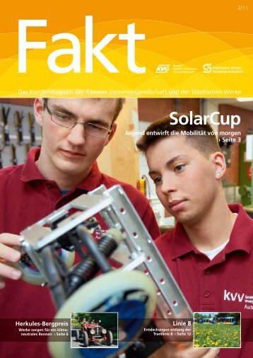 Fakt 02/2011 - Städtische Werke AG Kassel