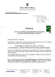 Einladung - Landratsamt Schwarzwald-Baar-Kreis