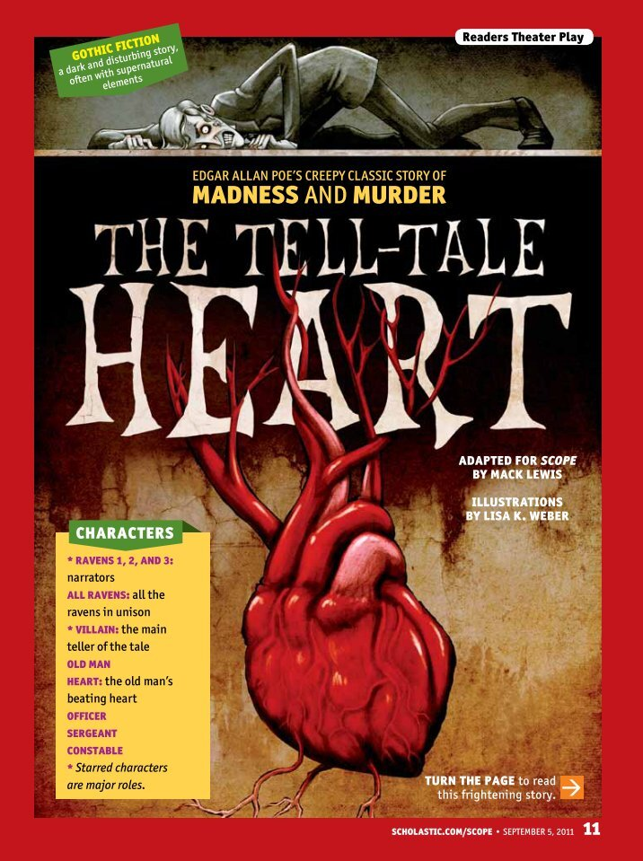 essay about the tell-tale heart by edgar allan poe