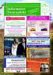 Rok XII nr 4 (139) Kwiecień 2011 - Informator Swarzędzki