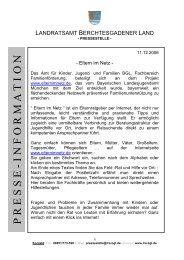 presse - information - Landratsamt Berchtesgadener Land