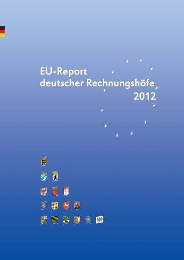 EU-Report 2012 deutscher Rechnungshöfe - Landesrechnungshof ...