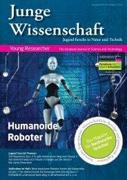 Download Leseprobe 89 als PDF - Junge Wissenschaft