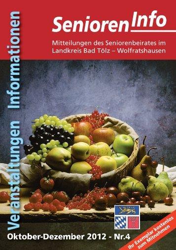 Senioren-Info 412 - Landratsamt Bad Tölz - Wolfratshausen