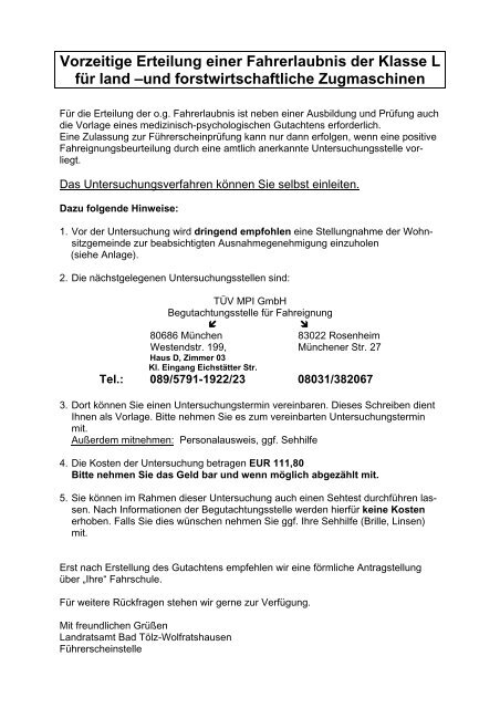 landratsamt rosenheim führerscheinstelle