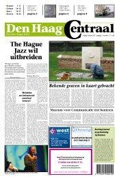 The Hague Jazz wil uitbreiden - Den Haag Centraal
