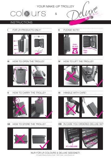 Insert Flyer Deko Deluxe - LR Health & Beauty Systems
