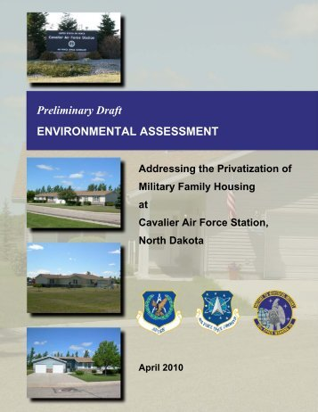 Preliminary Draft ENVIRONMENTAL ASSESSMENT - MWH Real ...