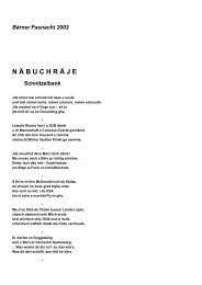 Bärner Fasnacht 2002 N Ä BUCHR Ä JE Schnitzelbank