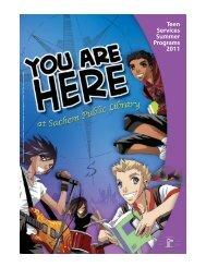 Teen Services Summer Programs 2011 - Sachem Public Library