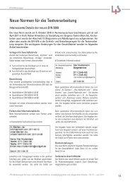 Neue Normen für die Textverarbeitung - Landesinstitut für ...