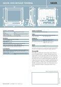 SAILOR® 6006 MESSAGE TERMINAL - Lseleer.de - Page 2