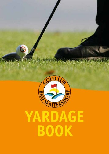 Yardagebook - GC Bad Waltersdorf