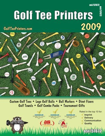 GTP Page 01 2009 - golf tee printers asi/57672