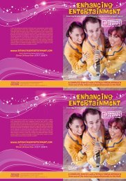 Download the 2013 Brochure - Enhancing Entertainment