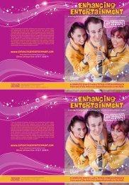 Download the 2013 Brochure - Enhancing Entertainment