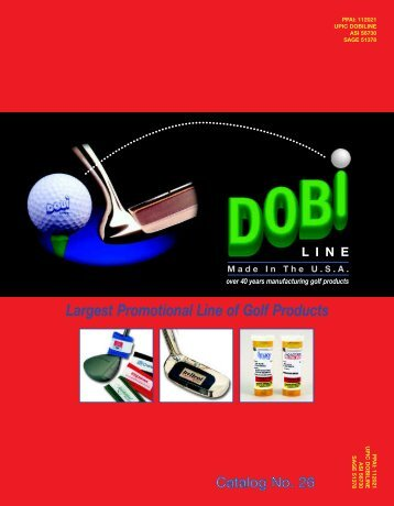 Largest Promotional Line of Golf Products - Gibas Golf Products