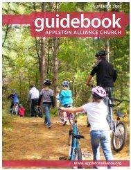 SUMMER 2012 Guidebook - Appleton Alliance Church