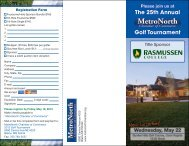The 25th Annual Golf Tournament - ChamberMaster