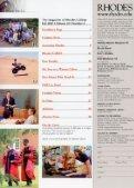 Rhodes Magazine - Fall 2003 - DLynx at Rhodes College - Page 2