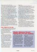 Rhodes Magazine - Fall 2003 - DLynx at Rhodes College - Page 5