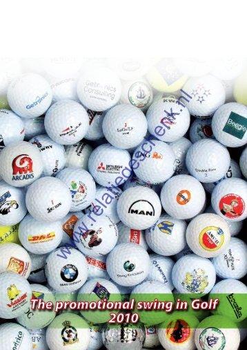 The Swing in Golf Promotion 2010 - Relatiegeschenk.nl