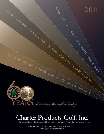 2011 - Charter Products Golf