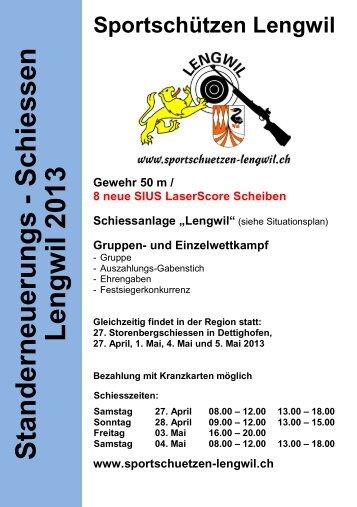 Schiessplan download - Lengwil