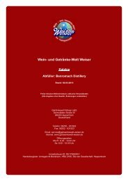 Wein- und Getränke-Welt Weiser - The Whisky Trader