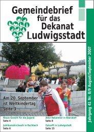 August/September - Aktuelles aus dem Markt Tettau - Nachrichten