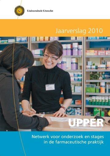 2011.05.16 UPPER jaarverslag 2010 - Universiteit Utrecht