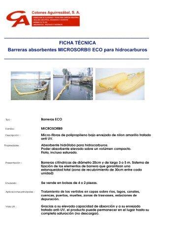 BARRERAS MAR FICHA TEC. CON LOGO - Cotones Aguirrezabal