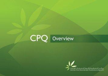CPQ Overview - Dubai Healthcare City